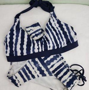 Other - Athleta Bikini Set Bra 36B/C Panty Medium